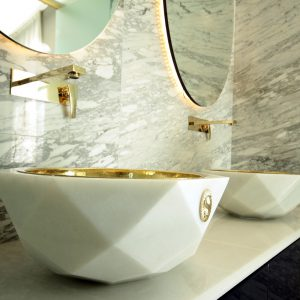 Afyon White Sink